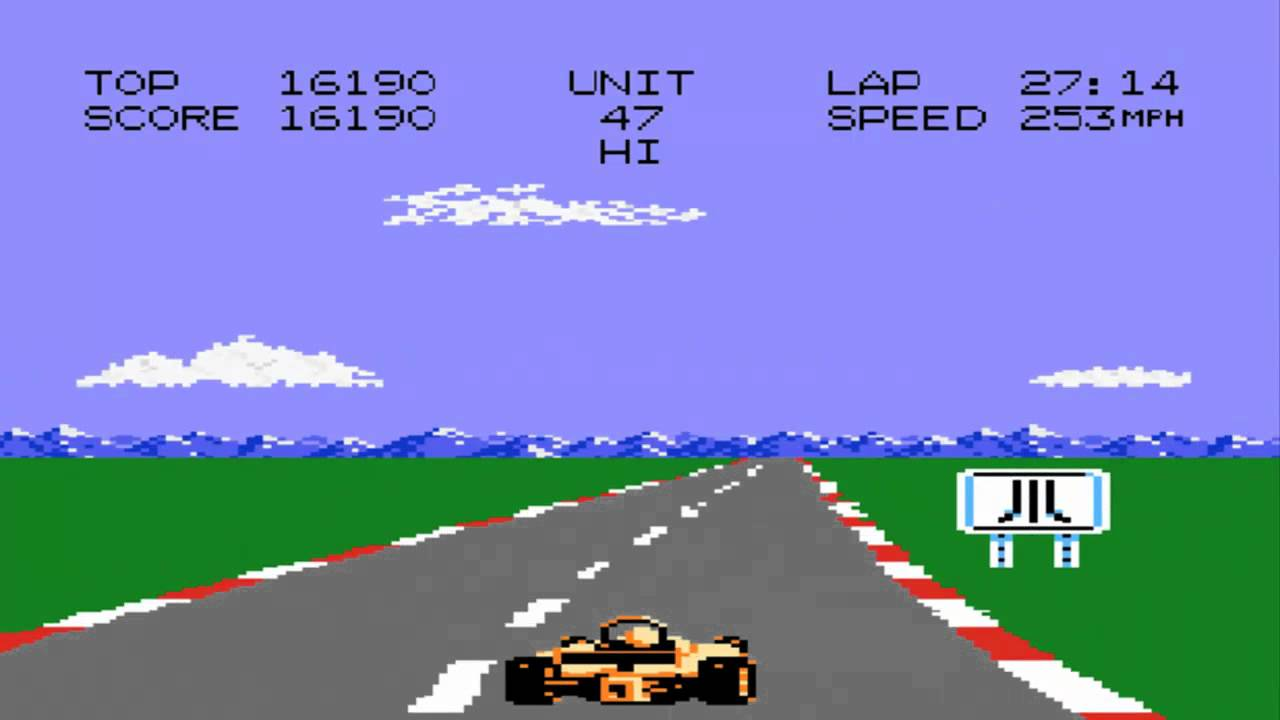 Pole Position II screenshot