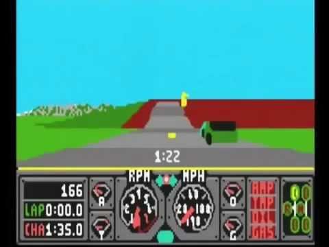 Hard Drivin' screenshot