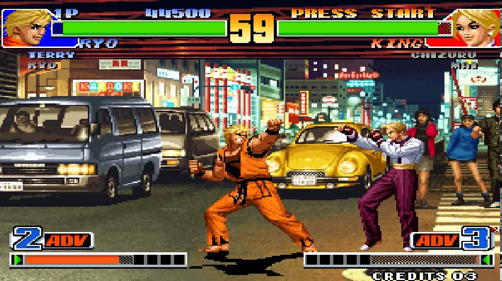The King of Fighters 98 screenshot