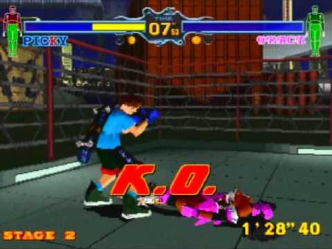 Fighting Vipers screenshot