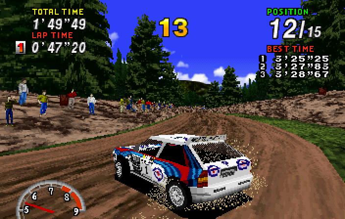 Sega Rally Championship screenshot