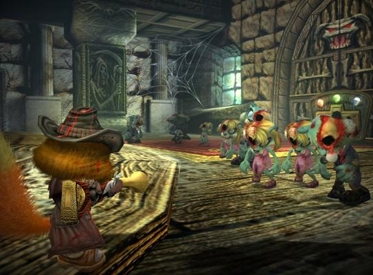 Conker: Live and Reloaded screenshot