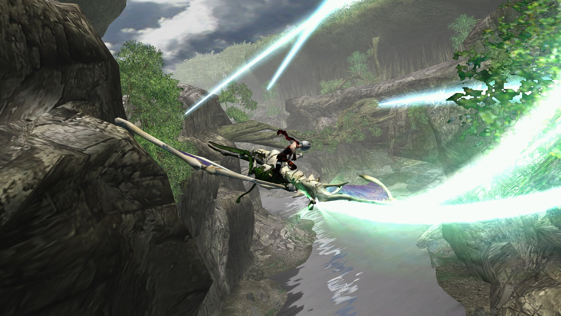 Panzer Dragoon Orta screenshot
