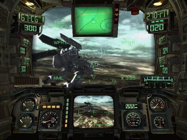 Steel Battalion screenshot