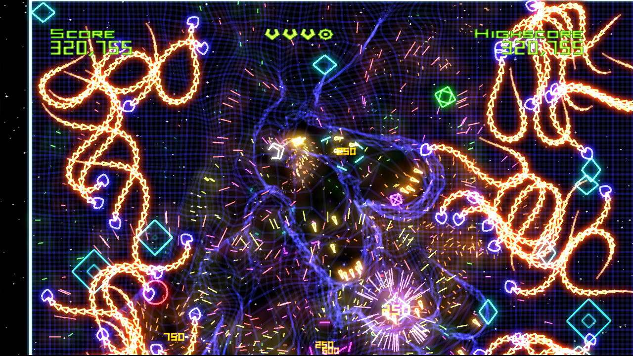 Geometry Wars screenshot