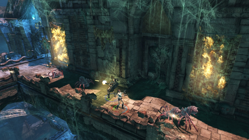 Lara Croft: Guardian of Light screenshot