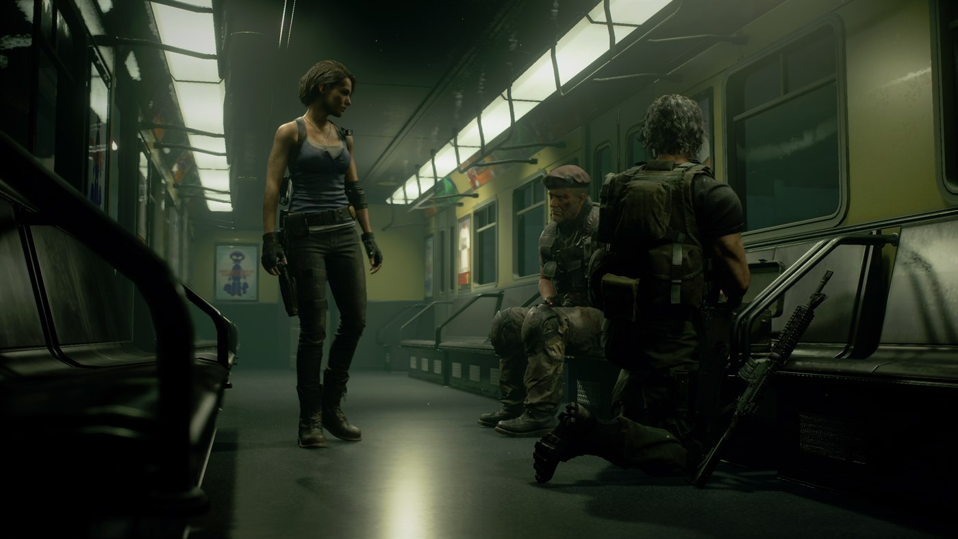 Resident Evil 3 Remake screenshot