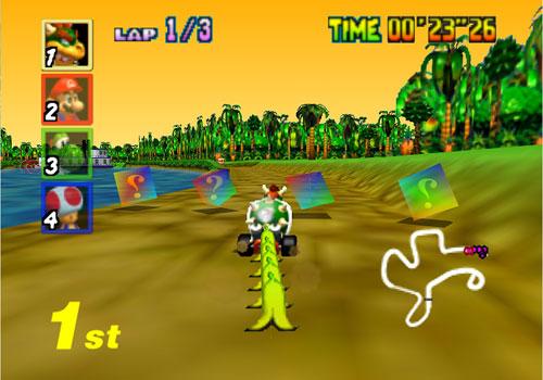 Image result for mario kart n64