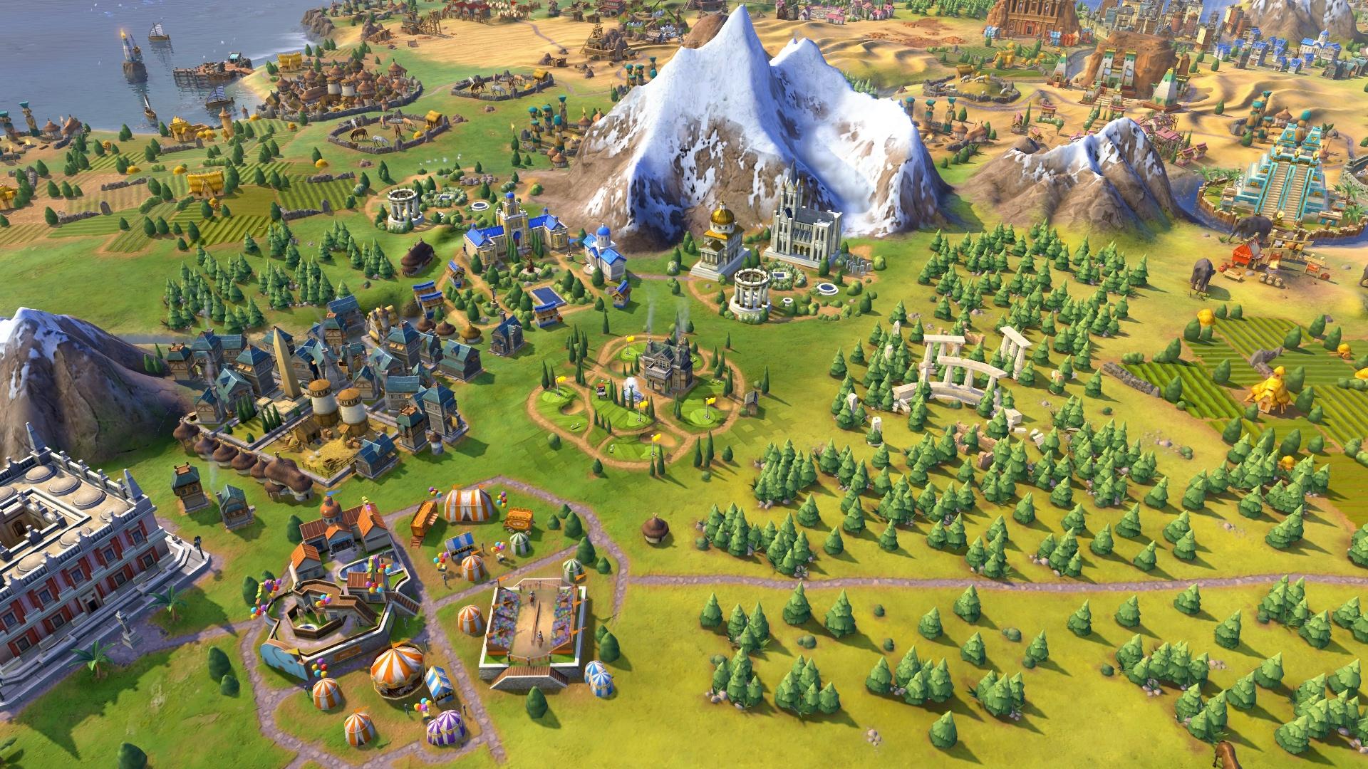 Civilization 6: Rise and Fall screenshot