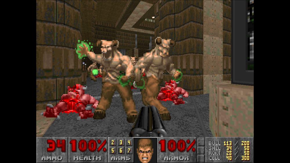 Doom II: Hell on Earth screenshot