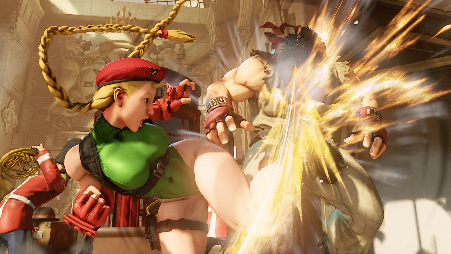 Street Fighter 5 screenshot