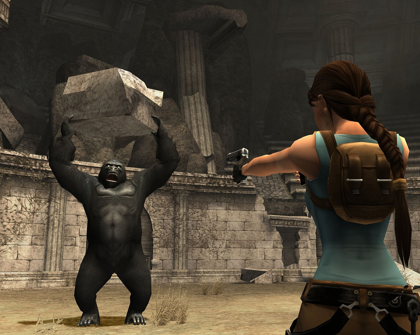 Tomb Raider: Anniversary screenshot