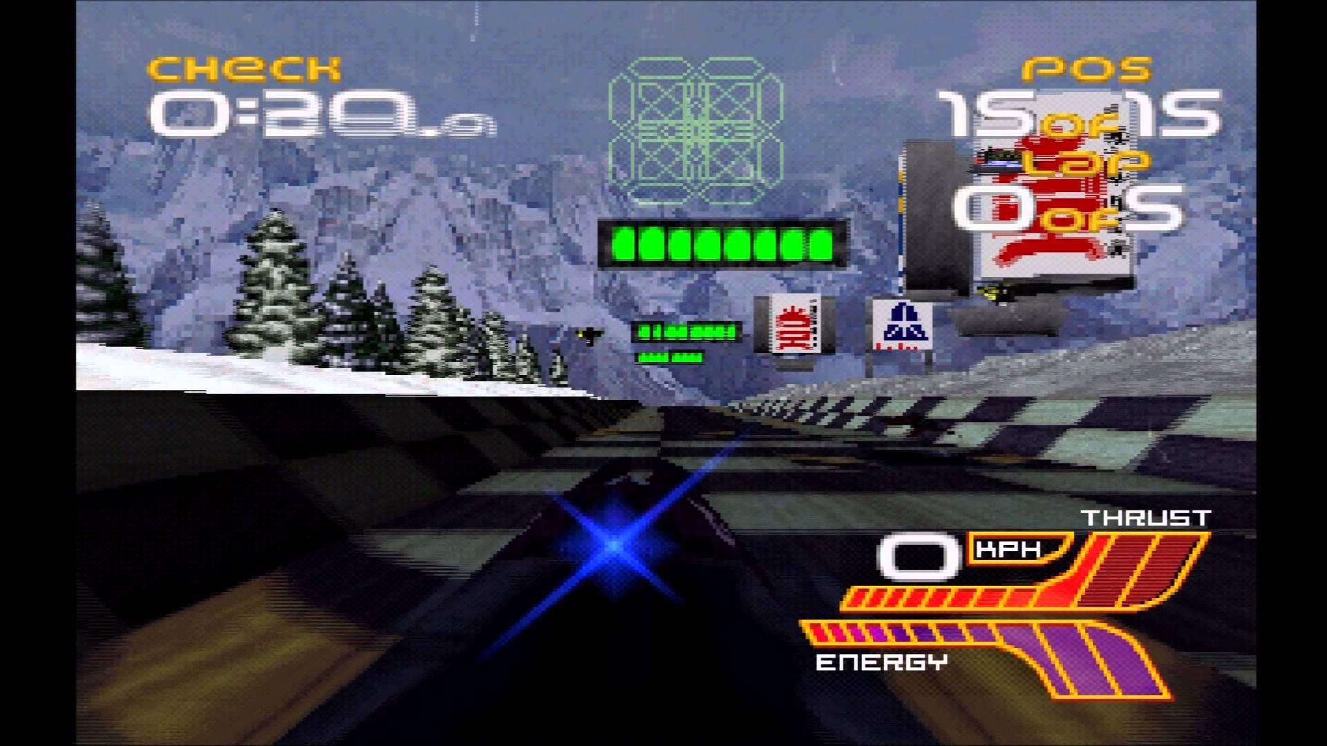 Wipeout XL screenshot